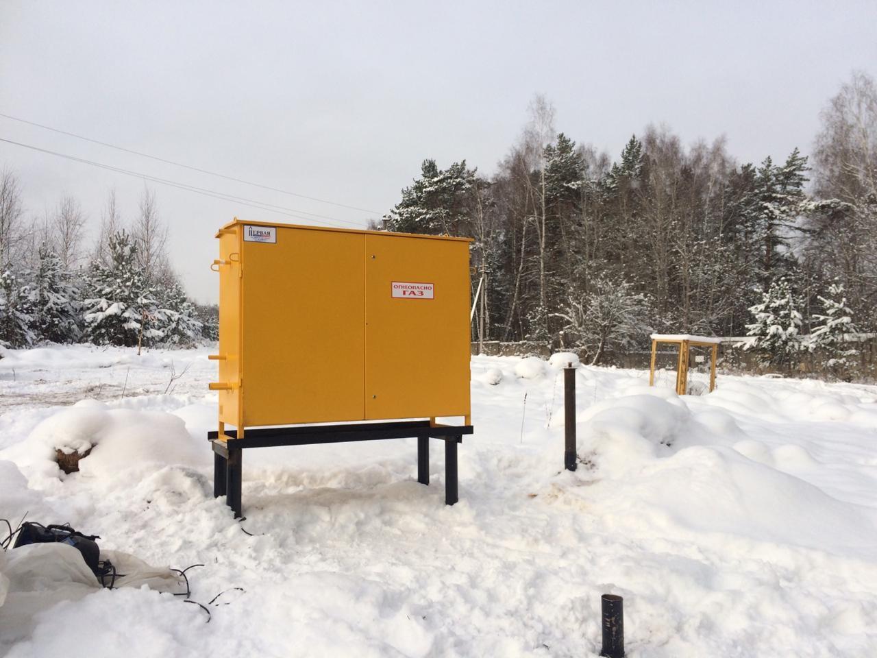 В «Усадьбе Романово» установлен газораспределительный шкаф