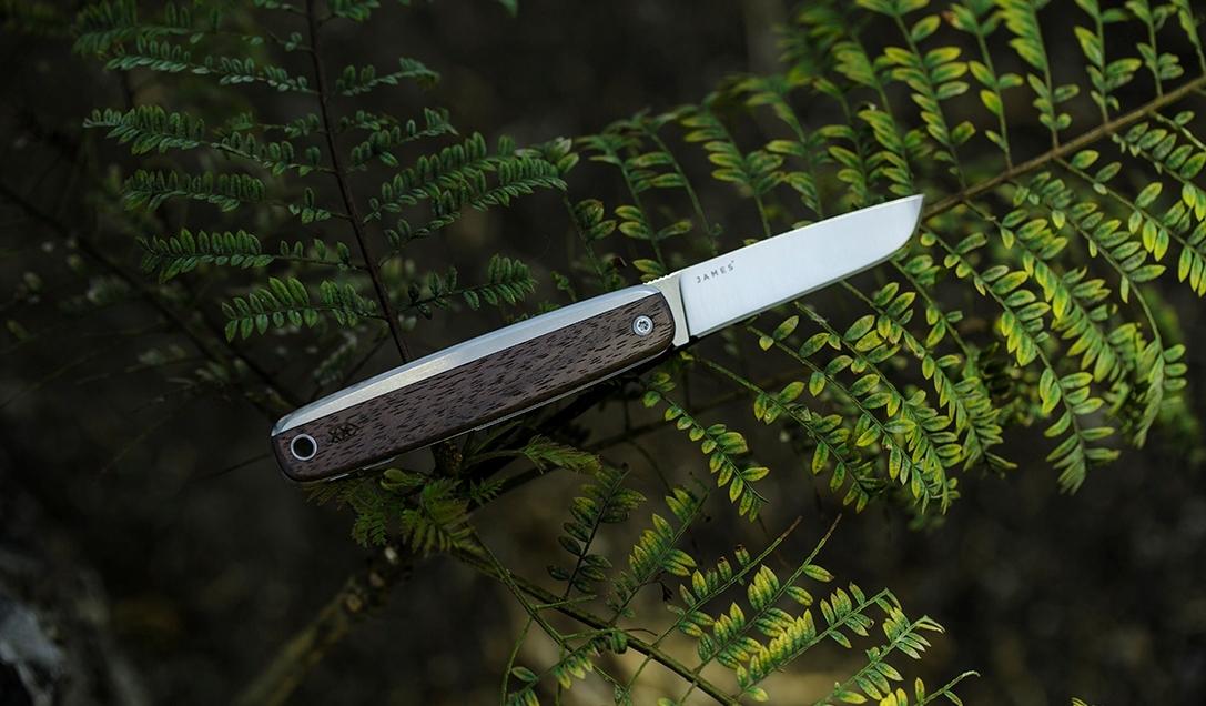 Обзор складного ножа The County от James Brand