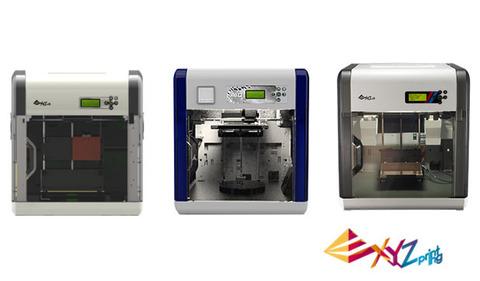 Старт продаж 3D-принтеров от XYZprinting