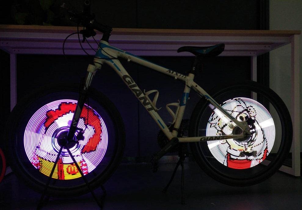 BaLight - светодиодная шоу-подсветка колес велосипеда
