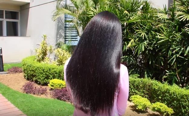Как безопасно выпрямить волосы без утюжка и химии. Рецепт.