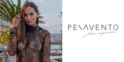 Фотомодель Aldy выбрала украшения от Pesavento для появления на красной дорожке Венецианского международного кинофестиваля.