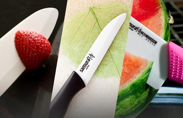 Как выбрать хороший нож из керамики в магазине?