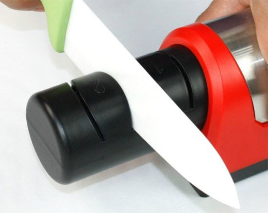 Как правильно точить керамический нож дома?