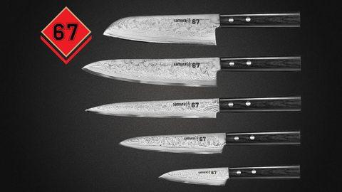 Основные характеристики дамасского ножа