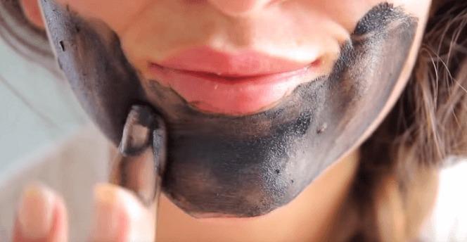 Натуральная черная маска для лица. Рецепт.