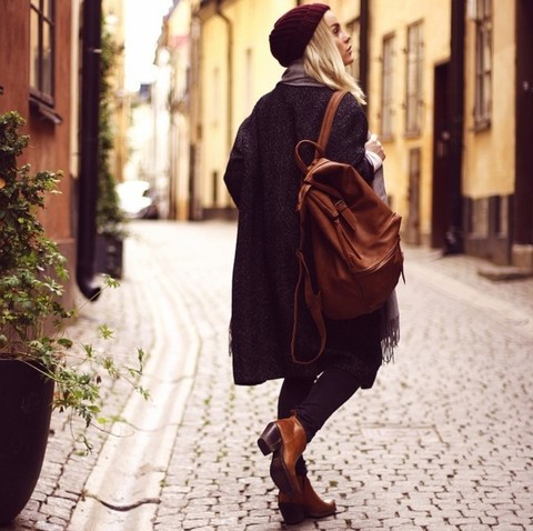 Как выбрать кожаный рюкзак