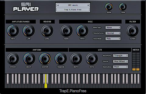 Trap E. Piano Free