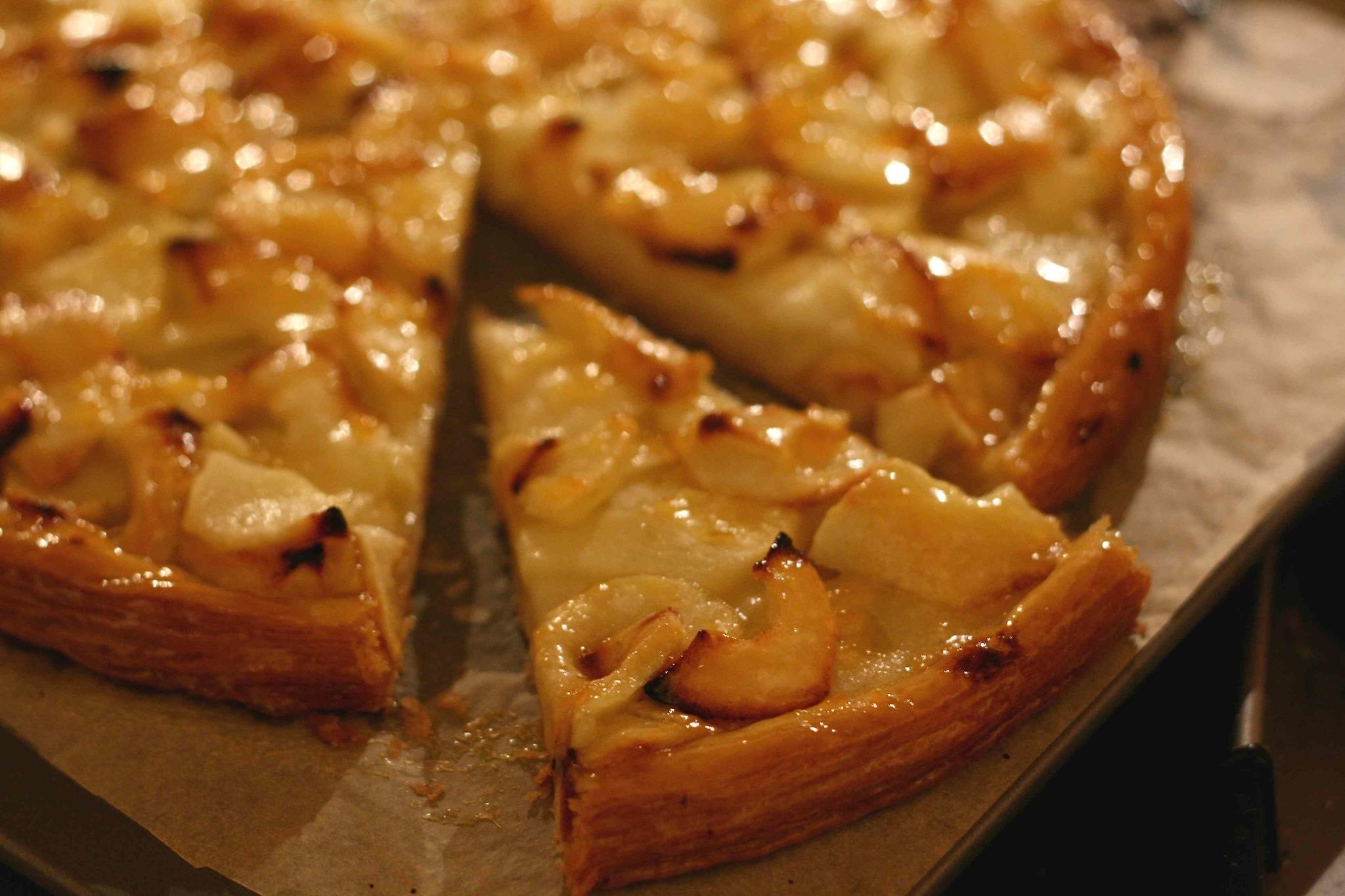 Пирог с яблоками ...