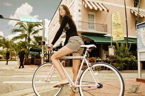 Как правильно отрегулировать сиденье на велосипеде?
