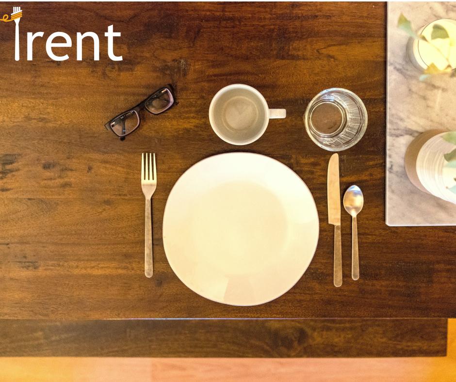 Посуд  для ділового обіду