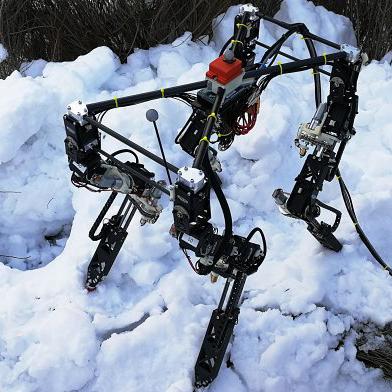 Самомоделирующийся робот-трансформер для бездорожья