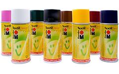 Краски по текстилю и стеклу Marabu