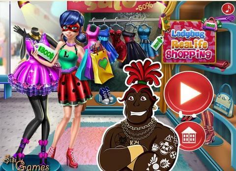 Игры для девочек Леди Баг и Супер Кот