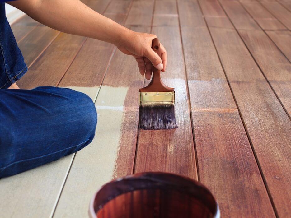 Как покрасить пол краской