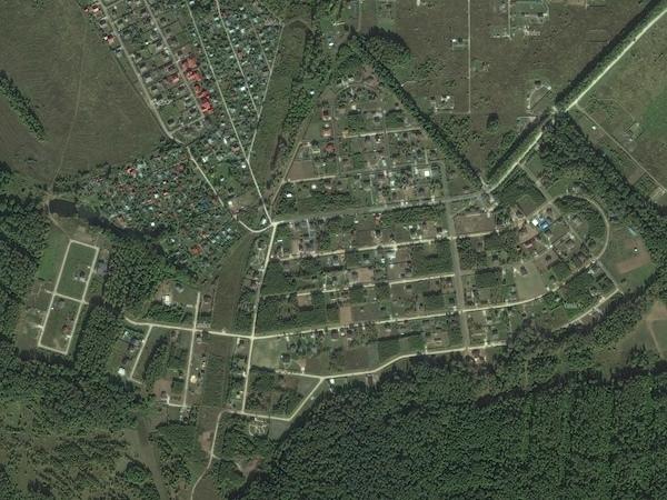Обновились спутниковые снимки «Романовского Парка»