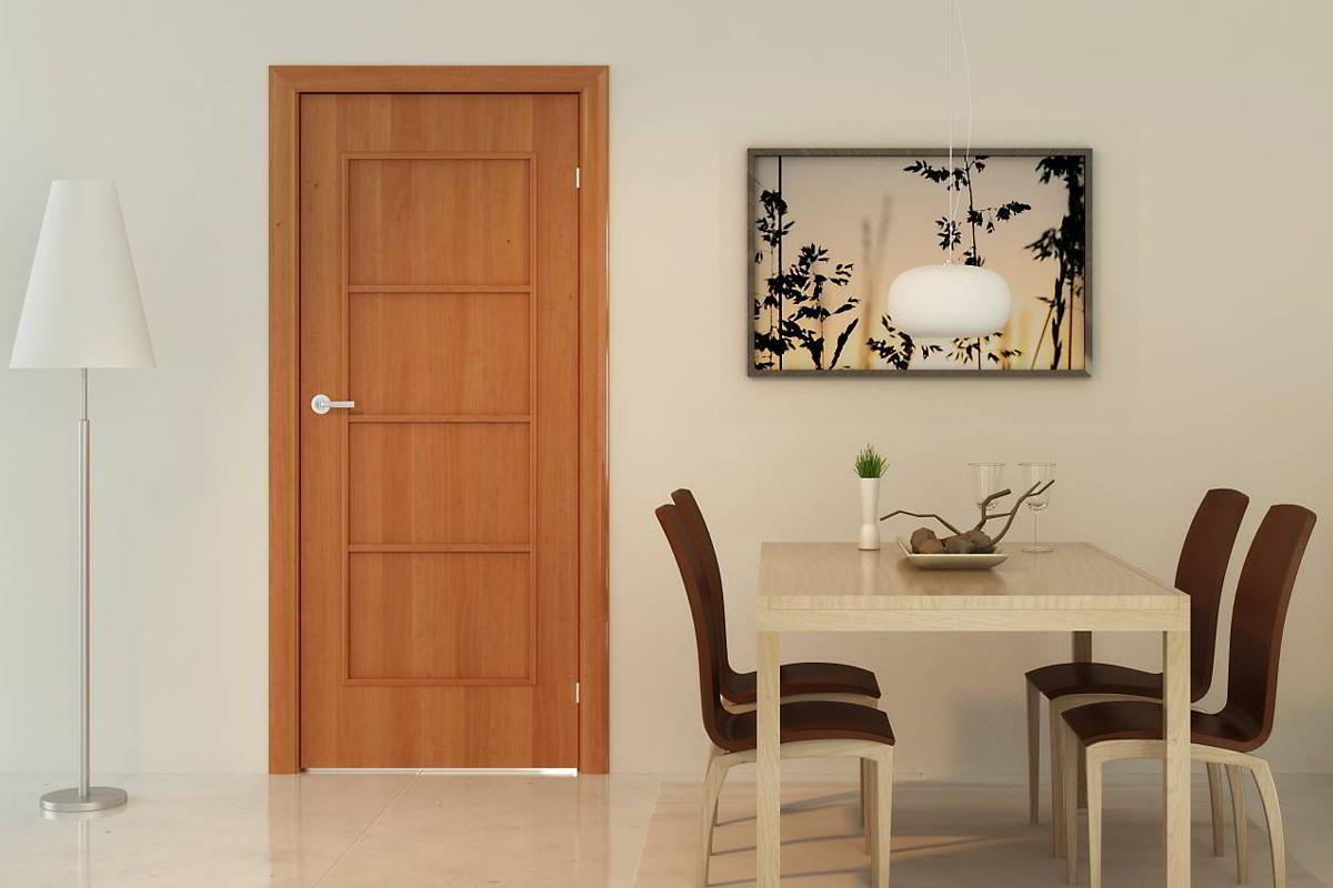 Ламинированные двери или ПВХ