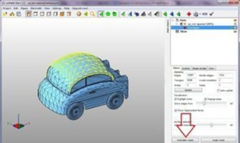 Поиск и исправление ошибок в 3D моделях