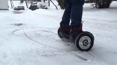 Где кататься на гироскутере зимой: 6 лучших мест