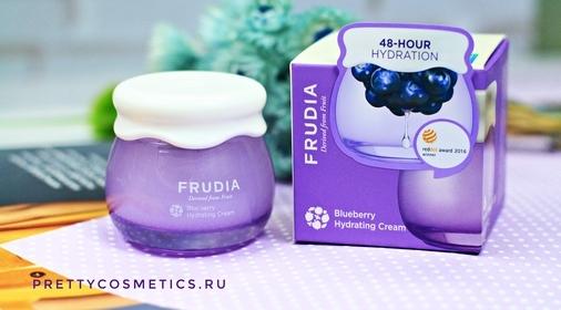 Вкусный уход вместе с Frudia Blueberry Hydrating Cream