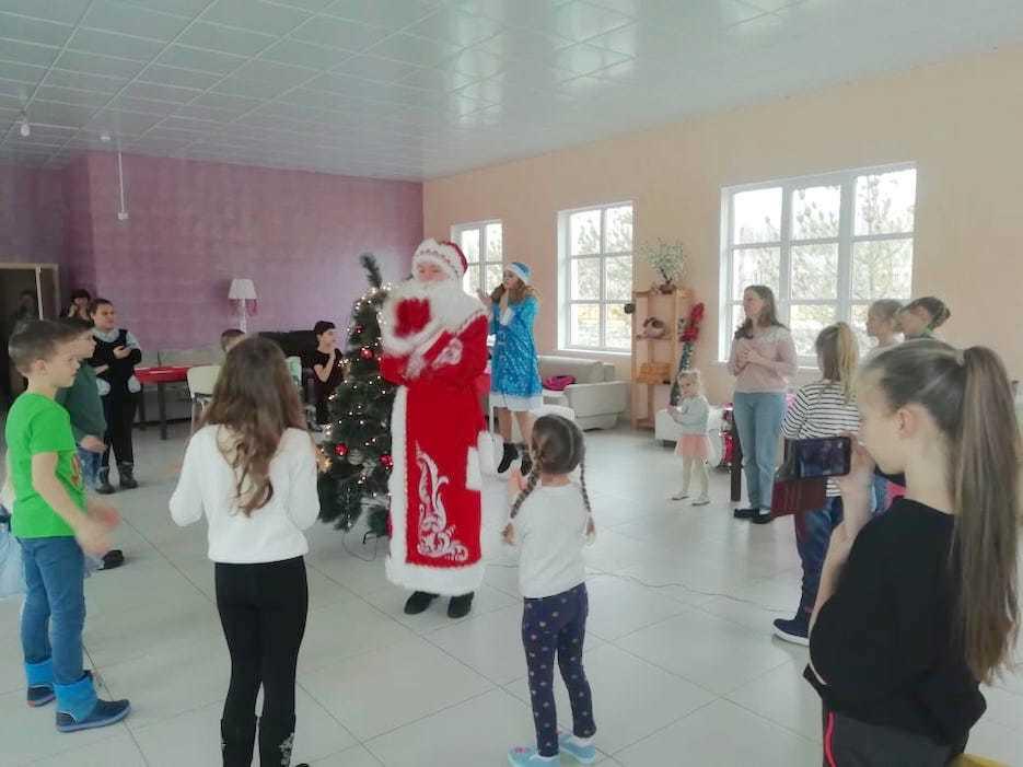 В «Романовском Парке» прошла Новогодняя Ёлка!