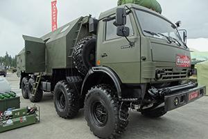 Армейская установка доочистки воды