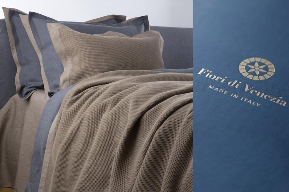 Ателье постельного белья Fiori di Venezia - современный подход к дизайну дома из Италии