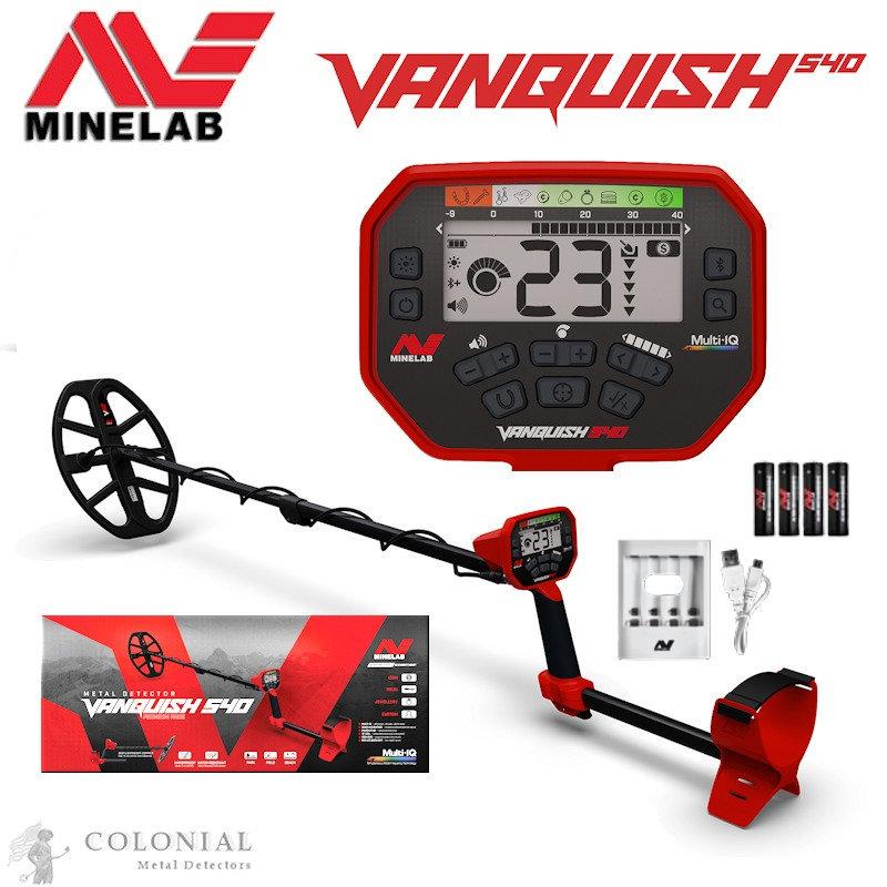 Обзор серии металлоискателей Vanquish от Minelab
