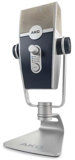 AKG Lyra – USB-микрофон для вещания