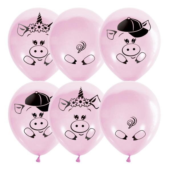 Воздушные шары к новому 2019 году Свиньи