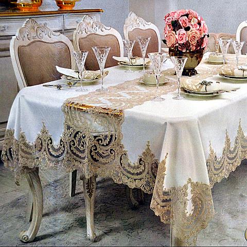 Красивые скатерти на праздничный стол - как выбрать?