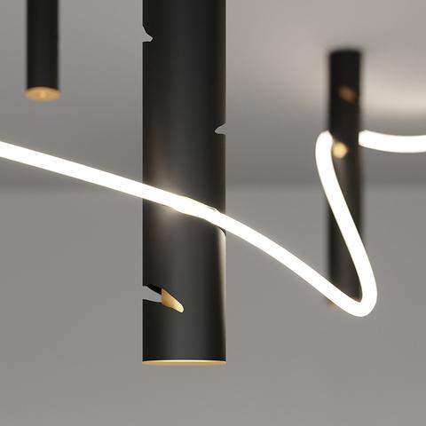 La Linea и Interweave — необычные гибкие светильники от Artemide