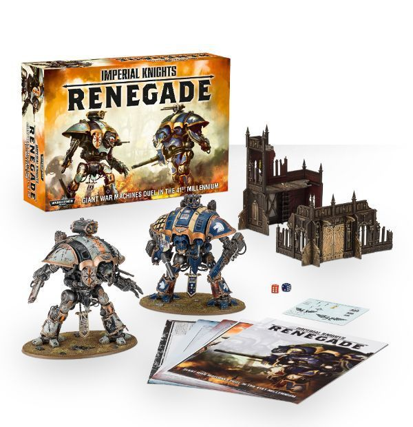 Imperial Knights: Renegade и орруки уже у нас!
