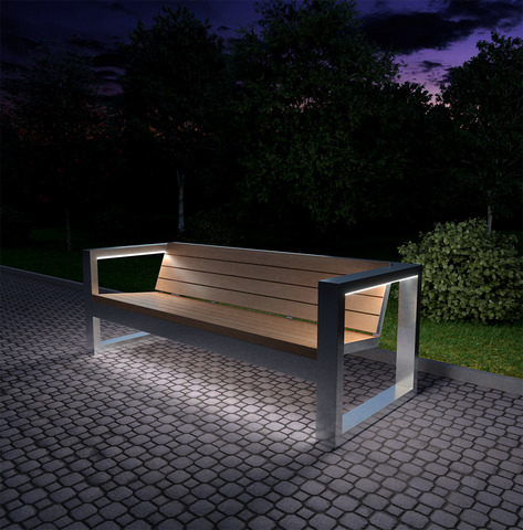 Запущено производство уличной мебели с LED подсветкой!