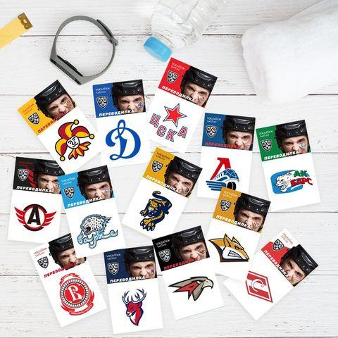 Новинка: Tatoo-переводилки любимых хоккейных клубов!