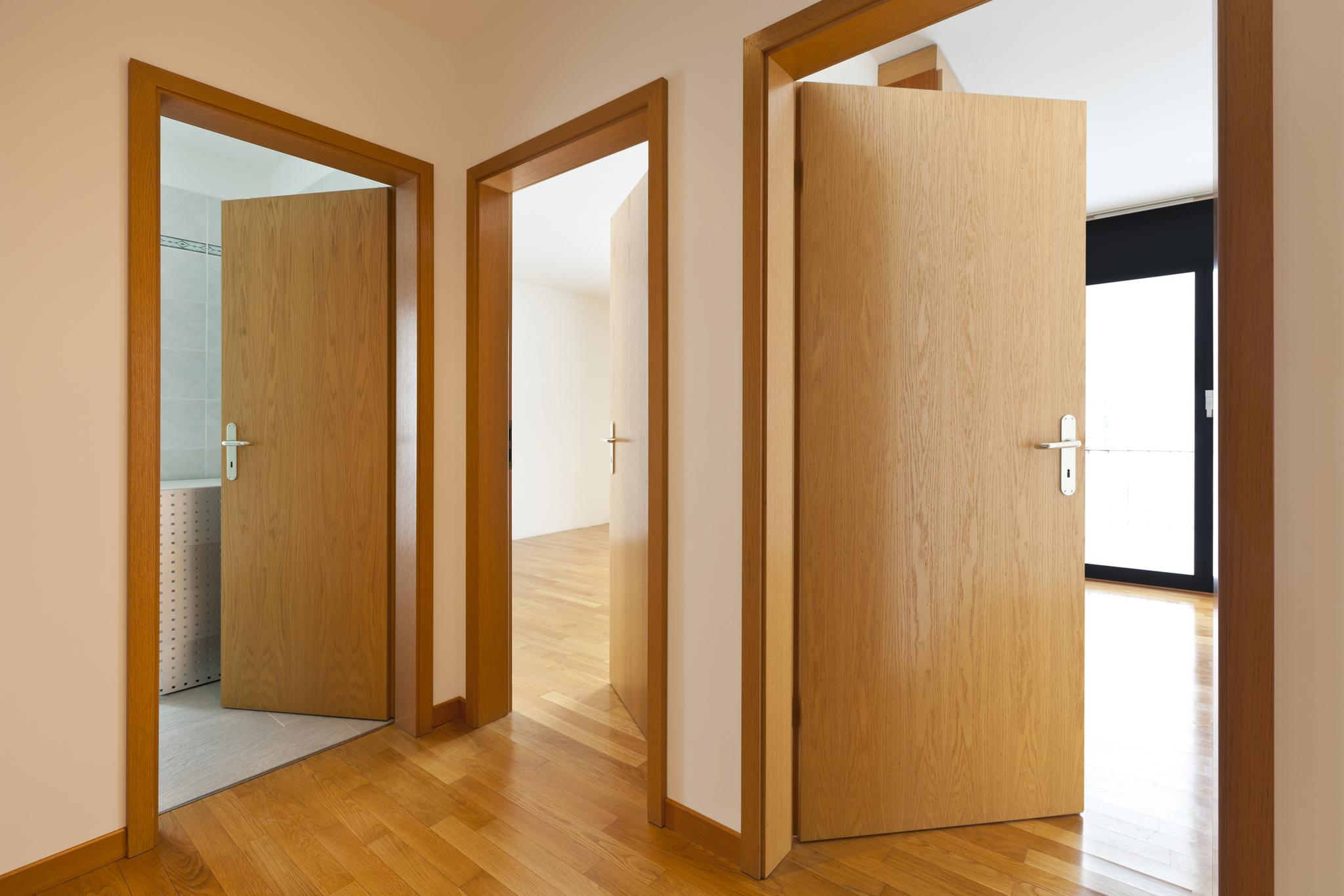 Какие двери выбрать ламинированные или шпонированные?