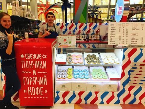 Открытие новой партнерской точки в ТЦ Шоколад