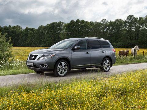 Устранение проседания подвески на Nissan Pathfinder IV