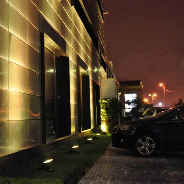 Архитектурное декоративное освещение