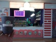 Открытие флагманской точки Magic Donuts на фудкорте ТРК Семья