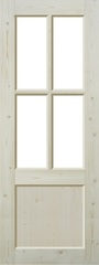 Двери со стеклом на складе
