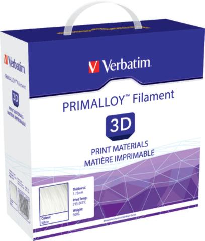 Verbatim Primalloy - первый инженерный TPE-филамент для 3D печати