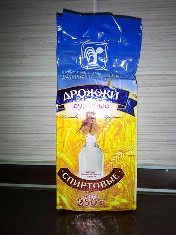 Спиртовые и винные сухие дрожжи производства Беларусь