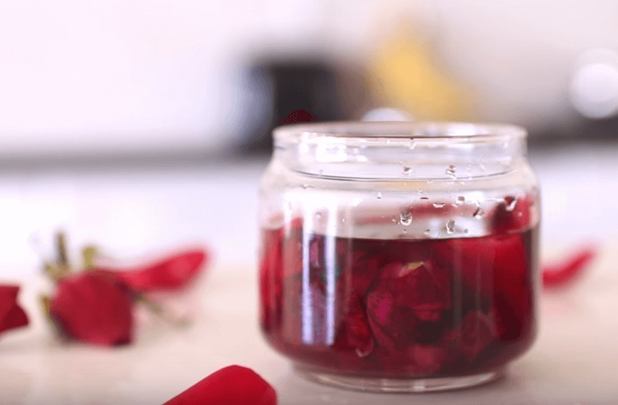 Розовое масло в домашних условиях. Рецепт.
