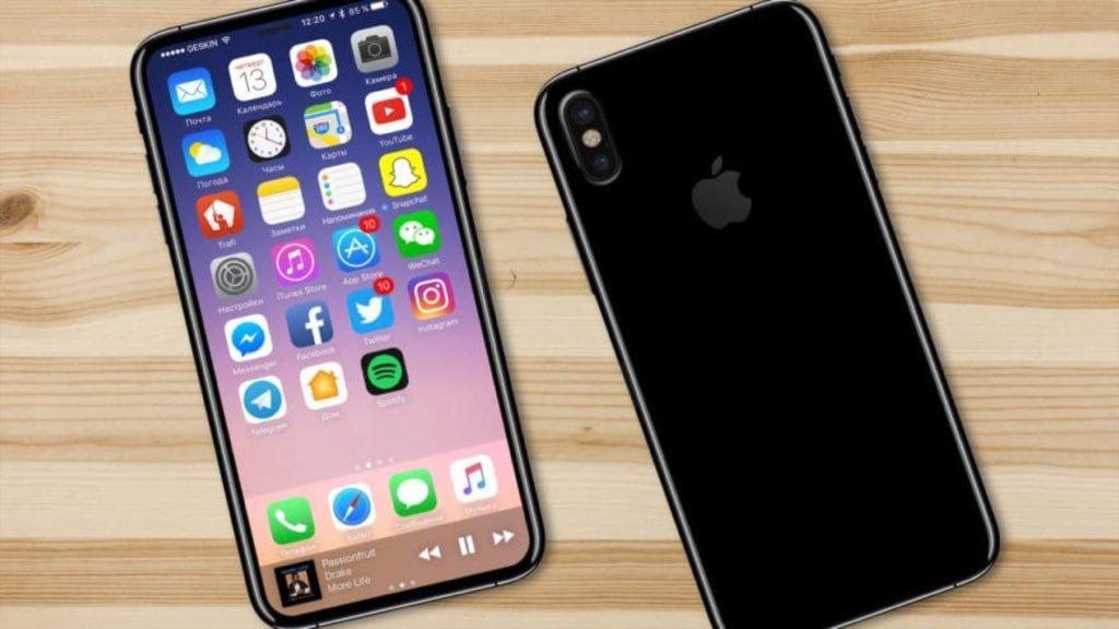 Юбилейный смартфон Apple получит название iPhone Plus, биометрический датчик, дактилоскопический сканер и беспроводную зарядку