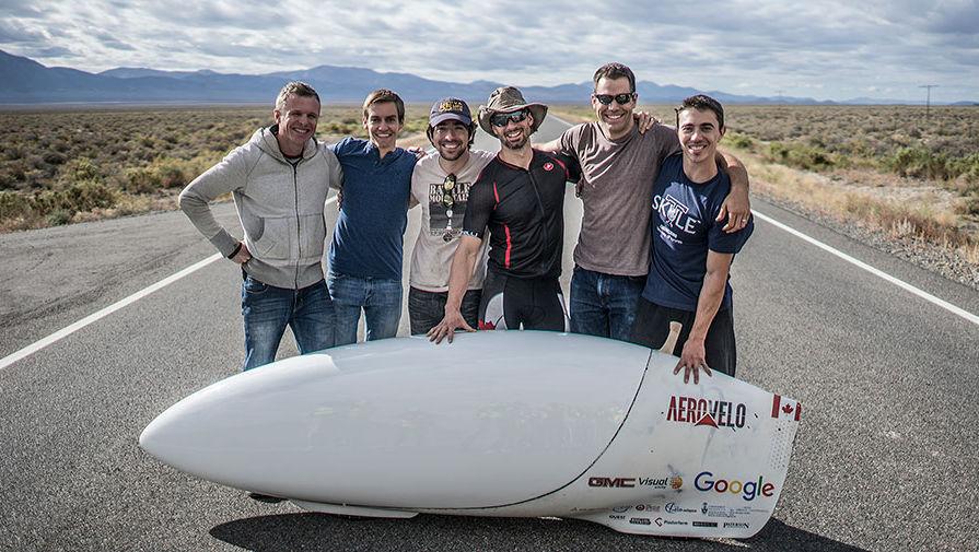 Побит мировой рекорд скорости для велосипедов
