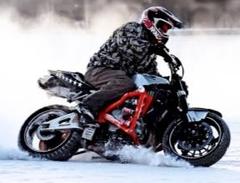 Можно ли ездить на мотоцикле зимой?