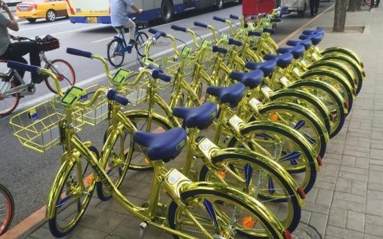 Велосипеды с беспроводной зарядкой заполонили улицы Пекина