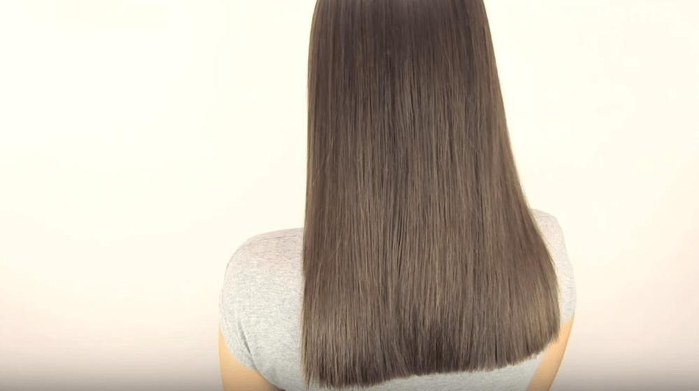 Как подстричь волосы самостоятельно. Ровный срез.