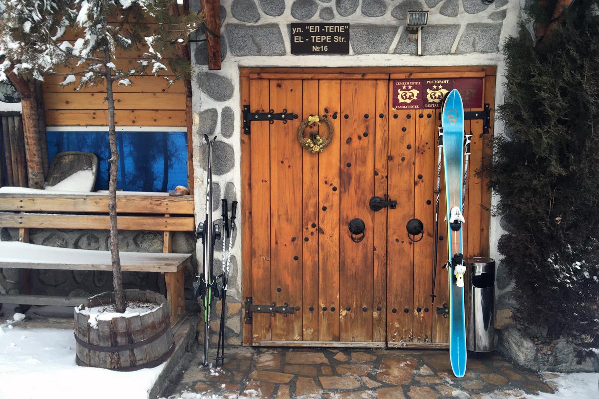 Двери болгарского города Банско